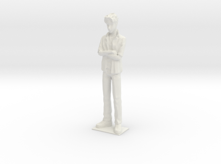 1/24 Modern Outfit Spectator Standing 3d printed