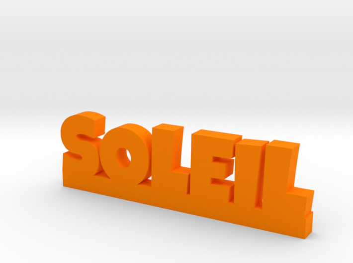 SOLEIL Lucky 3d printed