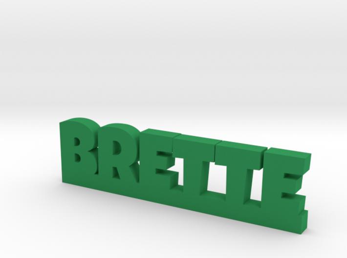 BRETTE Lucky 3d printed