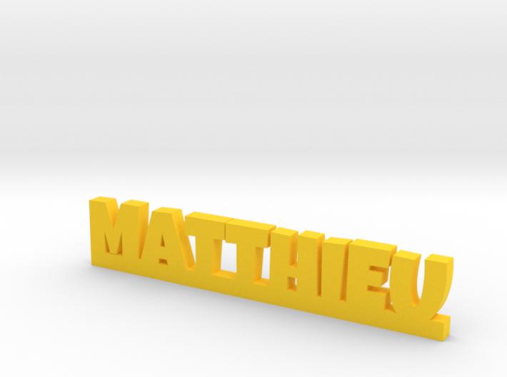 MATTHIEU Lucky 3d printed