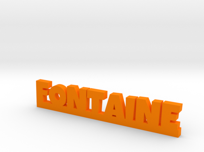 FONTAINE Lucky 3d printed