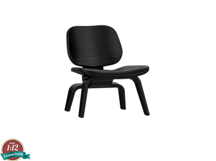 Miniature Eames DCW Chair - Charles & Ray Eames 3d printed 1:12 - Eames DCW - Charles & Ray Eames