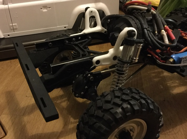 Raffee Land Rover D90 / Axial SCX10ii Pickup Rear 3d printed
