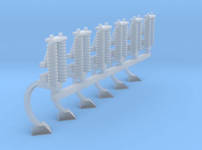 1/64 Bourgault Cultivator 6 Pack 3d printed