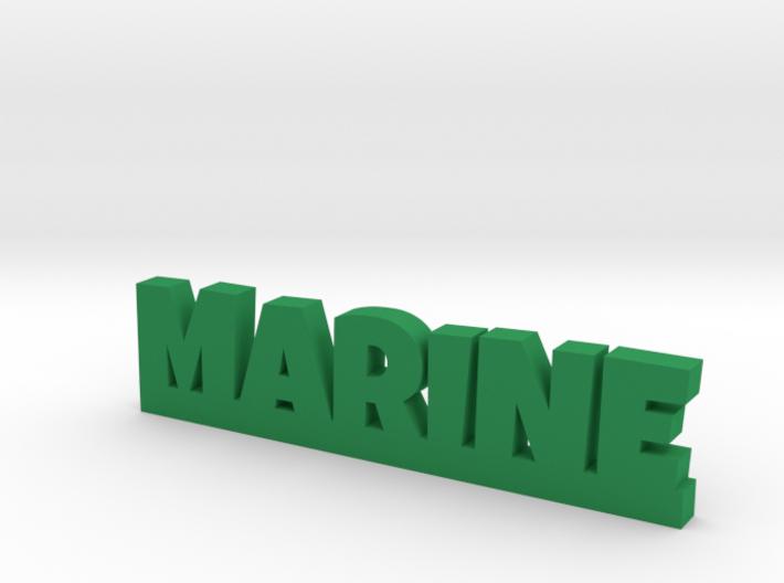 MARINE Lucky 3d printed