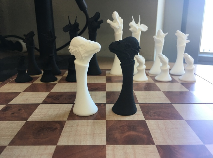 (Chess) Pachycephalosaurus Bishop 3d printed