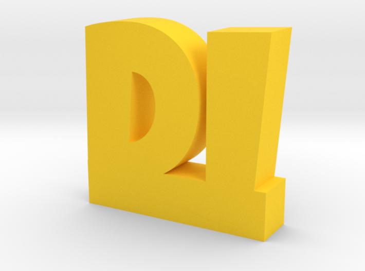 DI Lucky 3d printed