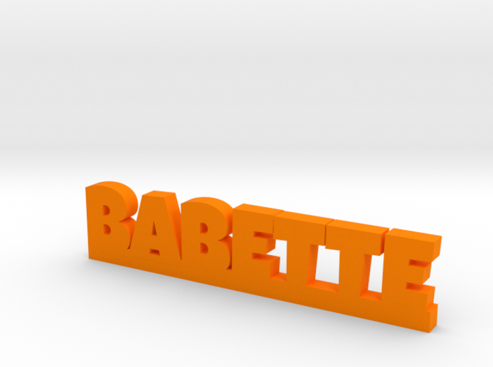 BABETTE Lucky 3d printed