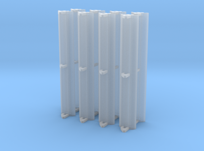 Shop Wall Light 8 Pack 3d printed