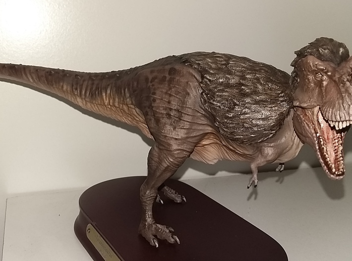 Feathered Tyrannosaurus for stevedexter 3d printed