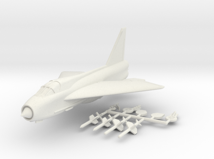 1/144 BAC Lightning T.5 3d printed