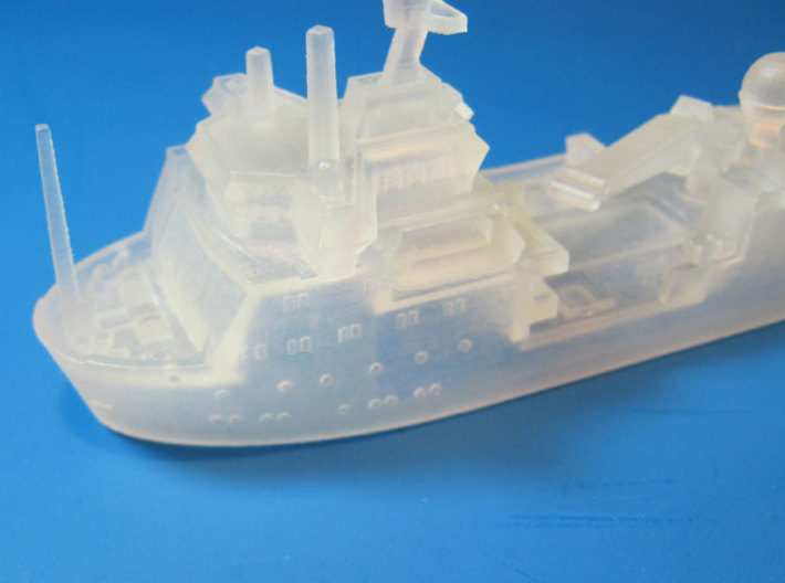 RRS Ernest Shackleton (1:1200) 3d printed