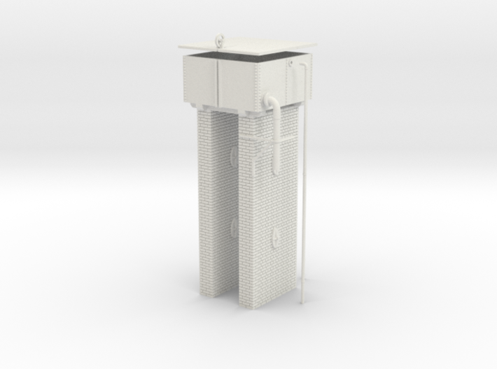 LM41 Water Tower 3d printed