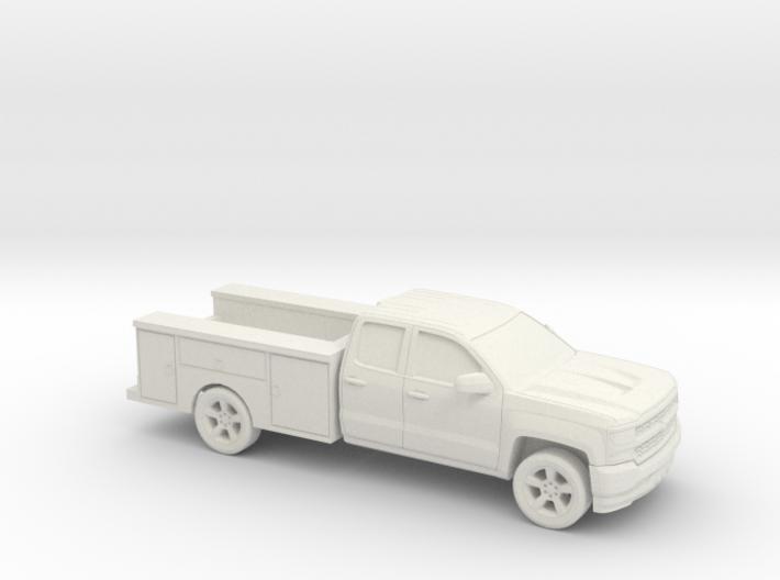 1/87 2016/17 Chevrolet Silverado EXT/Utility 3d printed