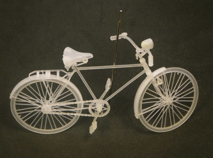 1/24 scale WWII Wehrmacht M30 bicycle models x 2 3d printed
