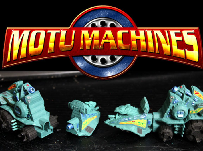 MOTU Machines Series - Battle Ram 3d printed 2 Painted Prototype prints
