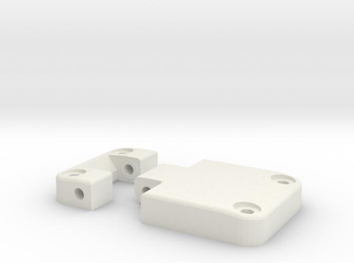 Functional door hinge new model D90 D110 1/2 3d printed