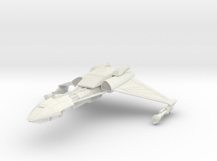 Klingon D5 V Cruiser 3d printed