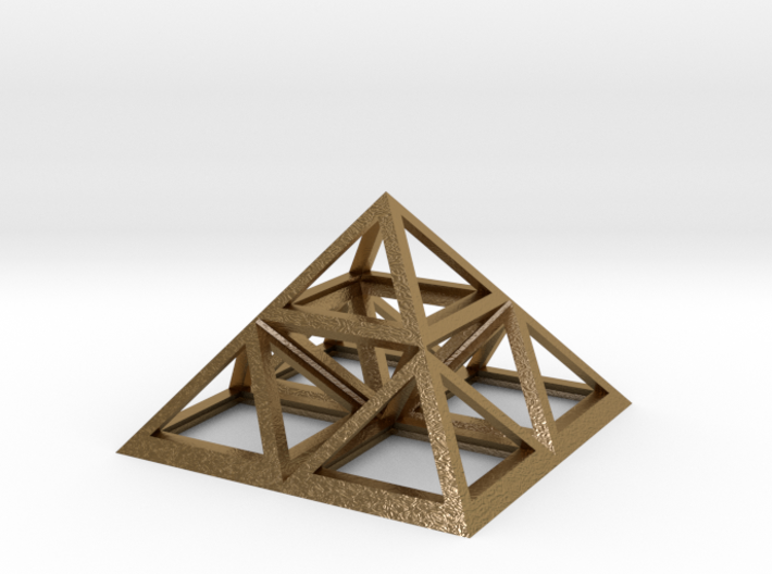 "Triforce Giza Pyramid 2"" 3d printed"