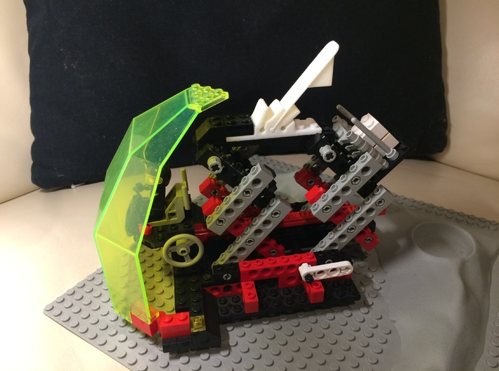 Catapult for Lego bricks 3d printed