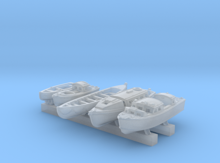 1/700 Scale RN Tribal Class Boat Set 3d printed 1/700 Scale RN Tribal Class Boat Set