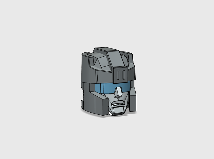 Rafferty soldier's Head for Titans Return 3d printed