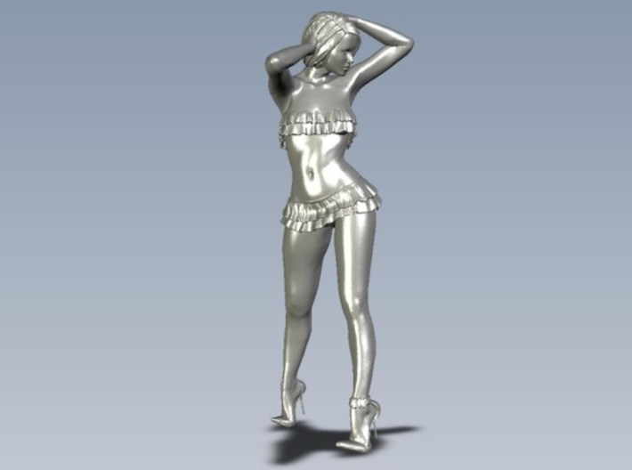 1/35 scale nose-art striptease dancer figure A x 2 3d printed