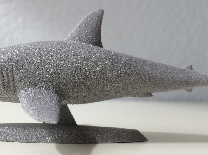 Great White Shark 3d printed Profile view