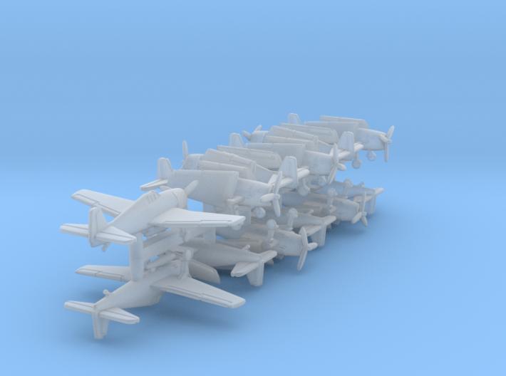F6F w/Gear x12 (FUD) 3d printed