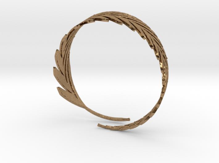 Feather Bracelet 3d printed