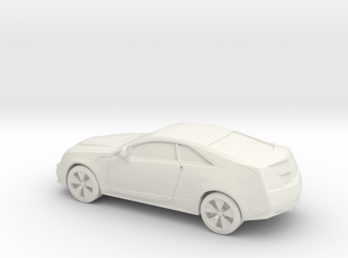 1/87 2007-13 Cadillac CTS V Coupe 3d printed