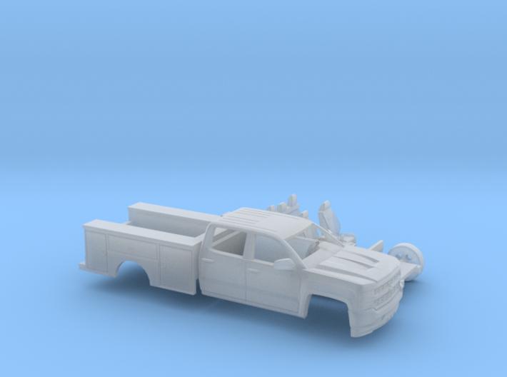 1/87 2016/17 Chevrolet Silverado Crew/Utility Kit 3d printed