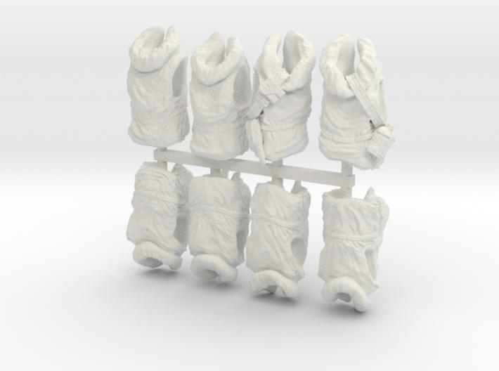 1/20 USN Hanged Kapok Lifevest Set1 3d printed