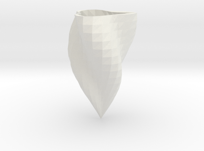 Low-poly supercurve vase 3d printed