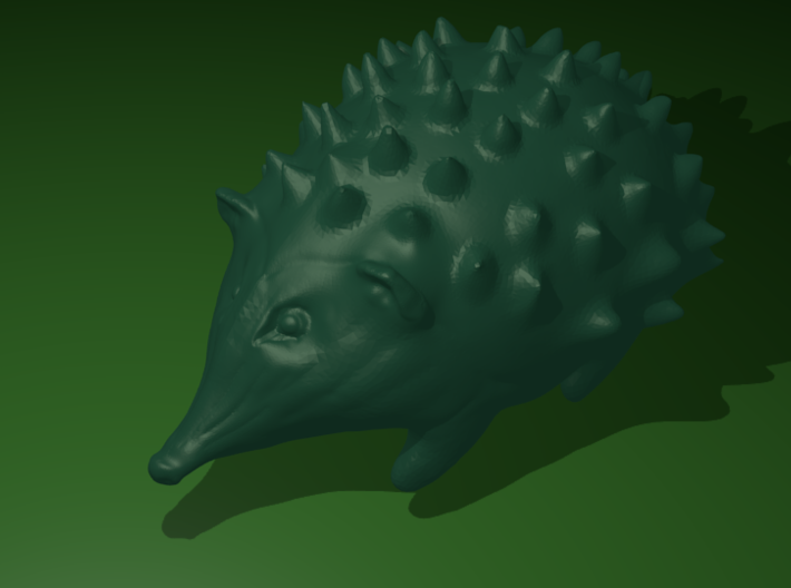 Hedgehog 3d printed Hedgehog