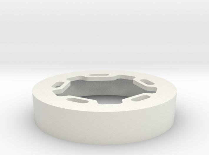 ProLine RC Brawler Wheels Beadlock Ring Star 3d printed