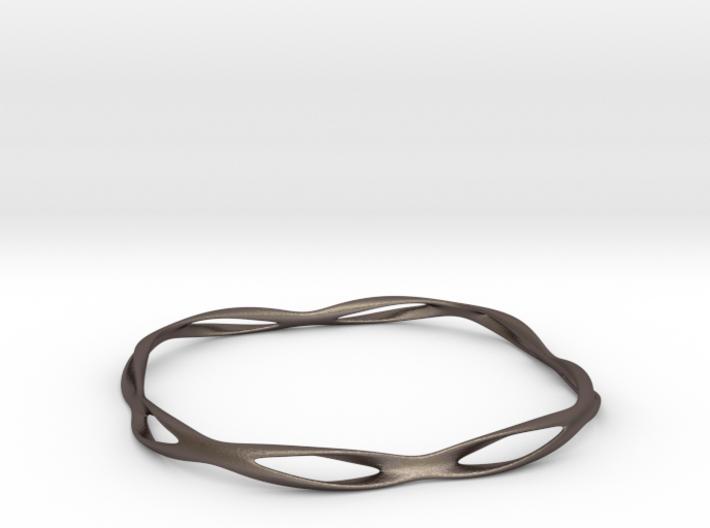 Thin macic bracelet 3d printed