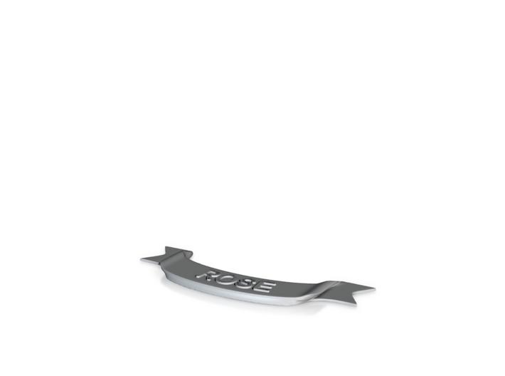 Clan Rose Scroll 3d printed