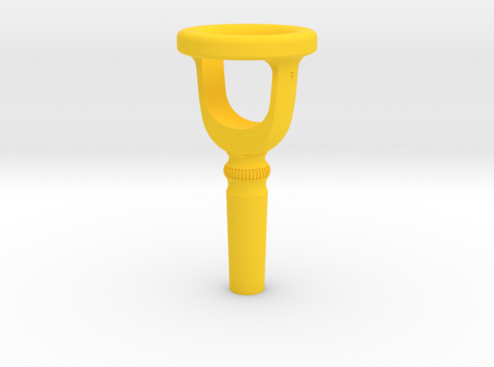 Tuba Cut-Away Mouthpiece Trainer - 1.30 Inch ID 3d printed