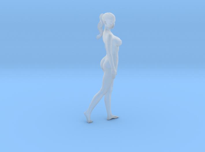 Long ponytail girl 028 1/35 3d printed