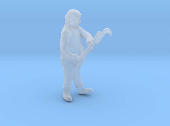 O Logging SWAMPER w Brush Cutter Figure 3d printed