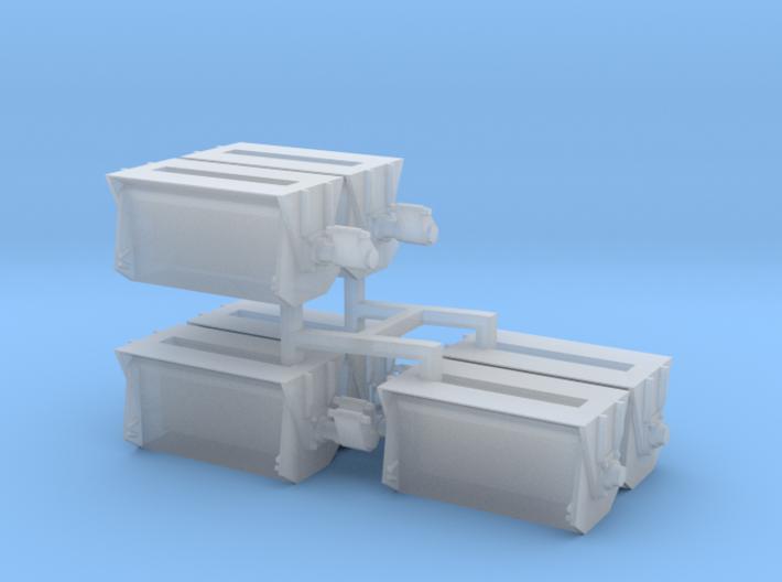 #2 Ballast Gate Miner Type Short [6 Gates] 3d printed