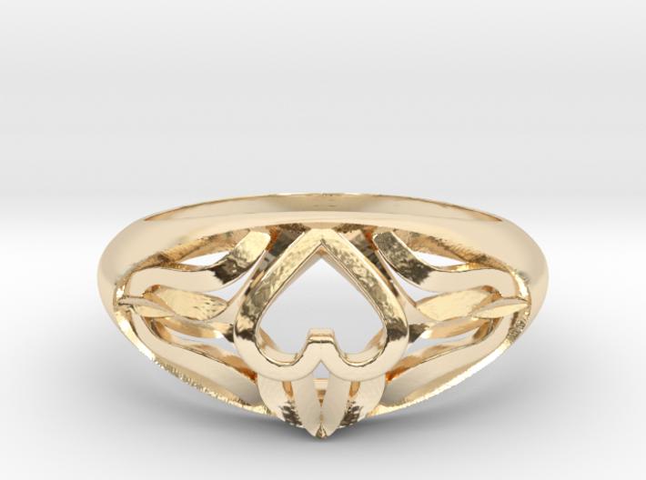 Claddagh Ring 3d printed