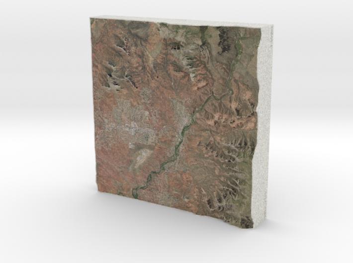 Sedona, Arizona, USA, 1:50000 Explorer 3d printed