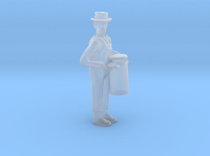 S Dairyman lugging Milk Can Figure 3d printed