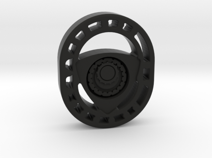 Rotary Engine Keychain 3d printed