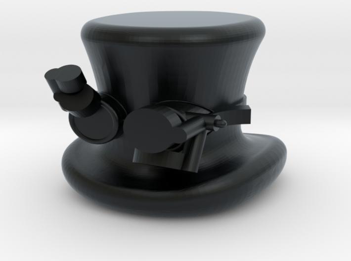 Mini Fig Steam Punk Top Hat N Goggs 3d printed
