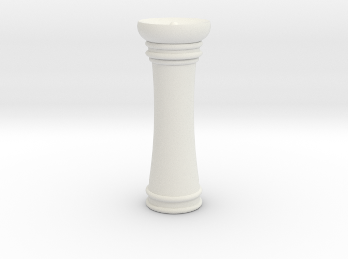 Courier chess Mann 3d printed