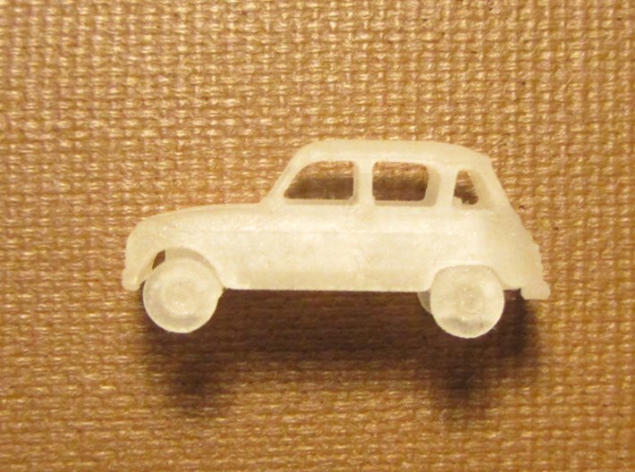 Renault 4 Hatchback 1:160 scale (Lot of 4 cars) 3d printed X 4