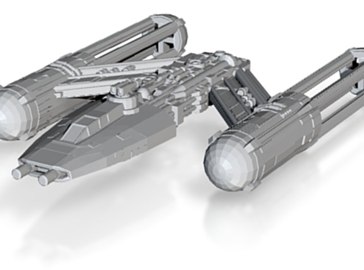 Y-Wing FS 3d printed